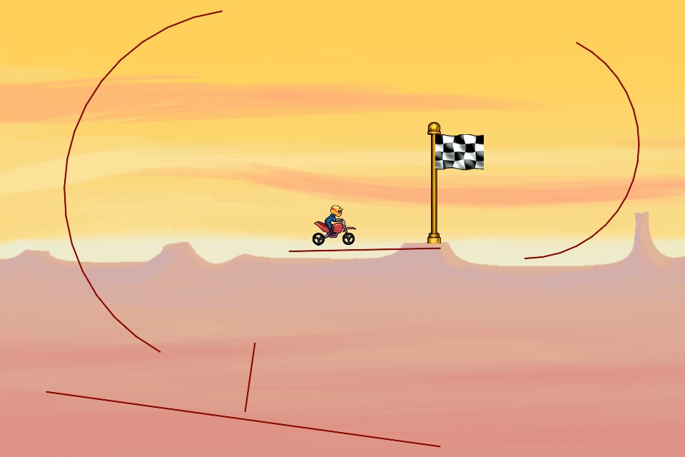 Bike Race Level by AaronQin: 4pxx6i
