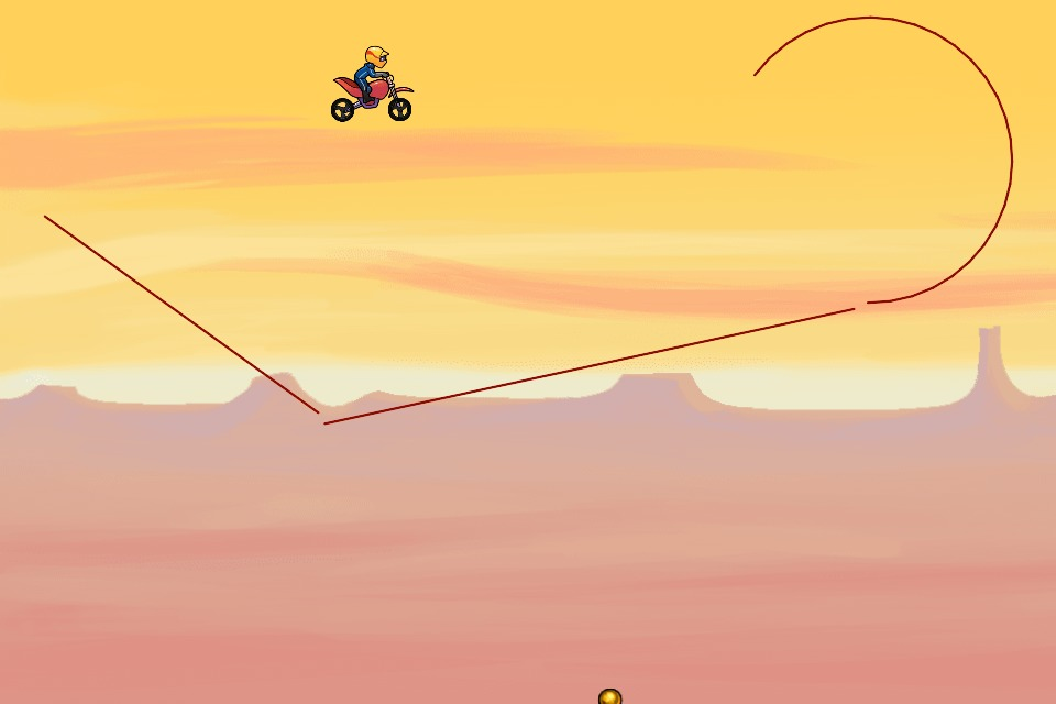 Bike Race Level by jonboy200: 8d4r9u