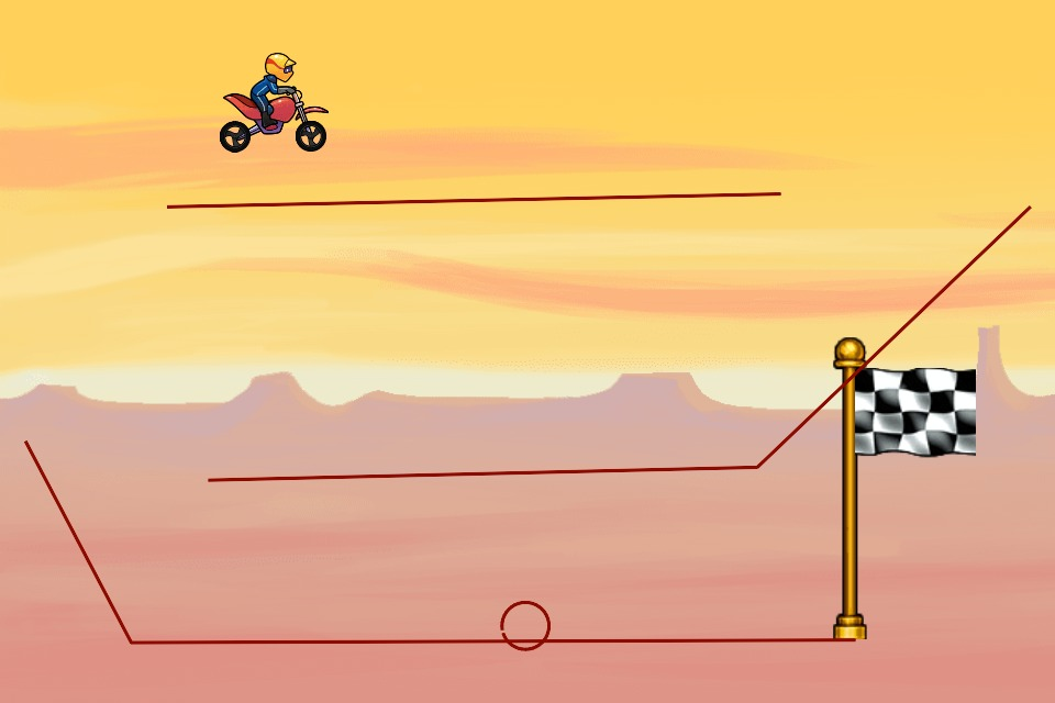 Bike Race Level by LinusJ: aydq2p