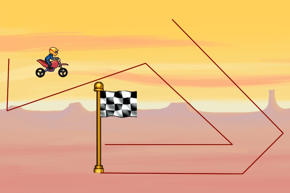 Bike Race Level by Imfurp: kf5kbw